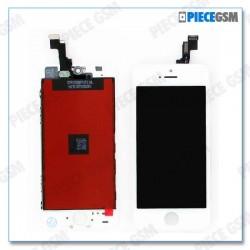 ECRAN LCD + VITRE TACTILE POUR IPHONE 5S Blanc