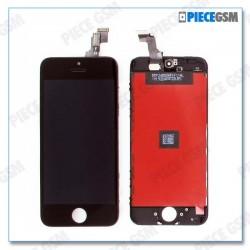 ECRAN LCD + VITRE TACTILE POUR IPHONE 5S Noir