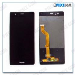 ECRAN LCD + VITRE TACTILE pour HUAWEI P9 noir