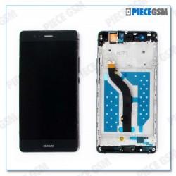 ECRAN LCD + VITRE TACTILE + CHASSIS pour HUAWEI P9 LITE NOIR