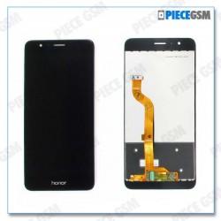 ECRAN LCD + VITRE TACTILE pour HUAWEI HONOR 8 NOIR