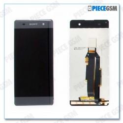 ECRAN LCD + VITRE TACTILE pour SONY XPERIA XA GRIS