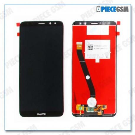 ECRAN LCD + VITRE TACTILE pour HUAWEI MATE 10 LITE NOIR