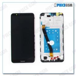 ECRAN LCD + VITRE TACTILE pour HUAWEI HONOR 7X NOIR