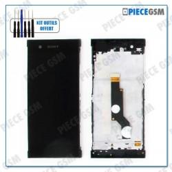 ECRAN LCD + VITRE TACTILE + FRAME pour SONY XPERIA XA1 NOIR