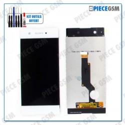 ECRAN LCD + VITRE TACTILE  pour SONY XPERIA XA1 BLANC