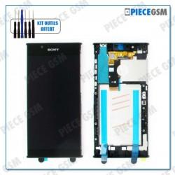 ECRAN LCD + VITRE TACTILE + FRAME pour SONY XPERIA L1 NOIR
