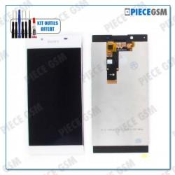 ECRAN LCD + VITRE TACTILE pour SONY XPERIA L1 BLANC