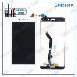 ECRAN LCD + VITRE TACTILE pour HUAWEI HONOR 6C PRO BLANC