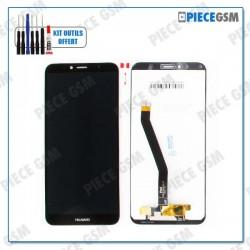 ECRAN LCD + VITRE TACTILE pour HUAWEI HONOR 7A NOIR