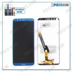 ECRAN LCD + VITRE TACTILE pour HUAWEI HONOR 9 LITE BLEU