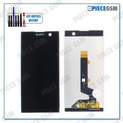 ECRAN LCD + VITRE TACTILE  pour SONY XPERIA XA2 NOIR