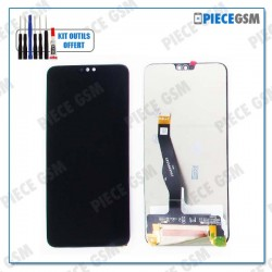 ECRAN LCD + VITRE TACTILE pour HUAWEI HONOR 8X NOIR