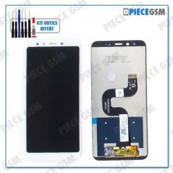 ECRAN LCD + VITRE TACTILE pour XIAOMI MI A2 BLANC