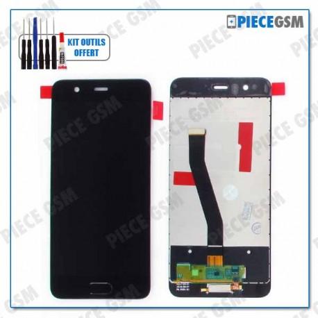 c4737d4650e12b ECRAN LCD + VITRE TACTILE pour HUAWEI P10 NOIR - PieceGsm