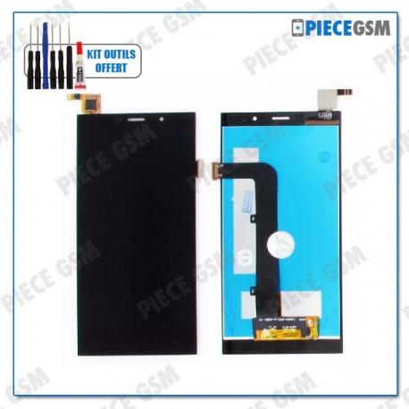 ECRAN LCD + VITRE TACTILE + FRAME  pour SFR STARTRAIL 6 PLUS 4G