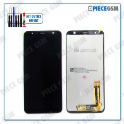 ECRAN LCD + VITRE TACTILE pour SAMSUNG J6 PLUS NOIR