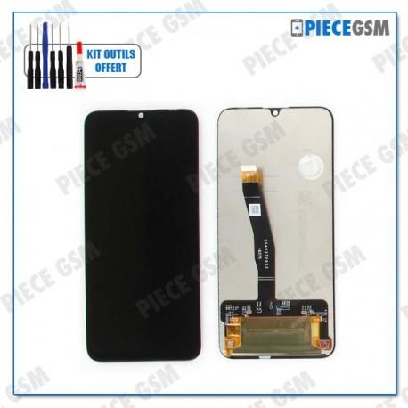ECRAN LCD + VITRE TACTILE pour HUAWEI HONOR 10 LITE NOIR