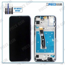 ECRAN LCD + VITRE TACTILE + FRAME pour HUAWEI HONOR 10 LITE NOIR