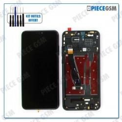 ECRAN LCD + VITRE TACTILE + FRAME pour HUAWEI HONOR 8X NOIR