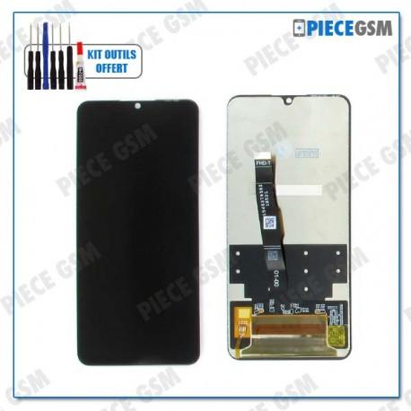 ECRAN LCD + VITRE TACTILE pour HUAWEI P30 LITE NOIR
