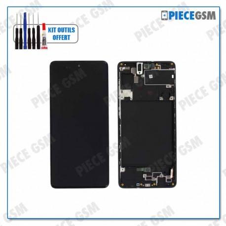 ECRAN LCD + VITRE TACTILE + FRAME pour SAMSUNG A11